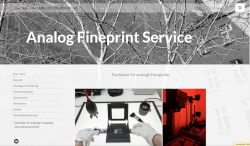 Analog Fineprint Service